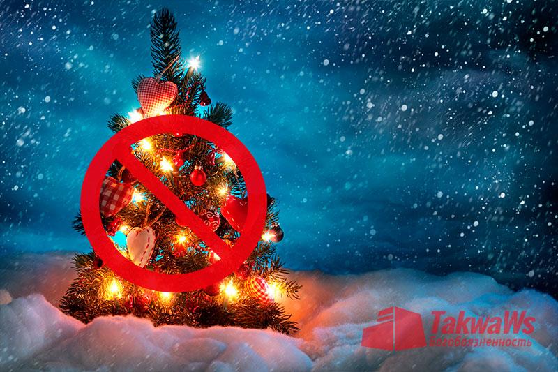 Причины запрета празднования нового года