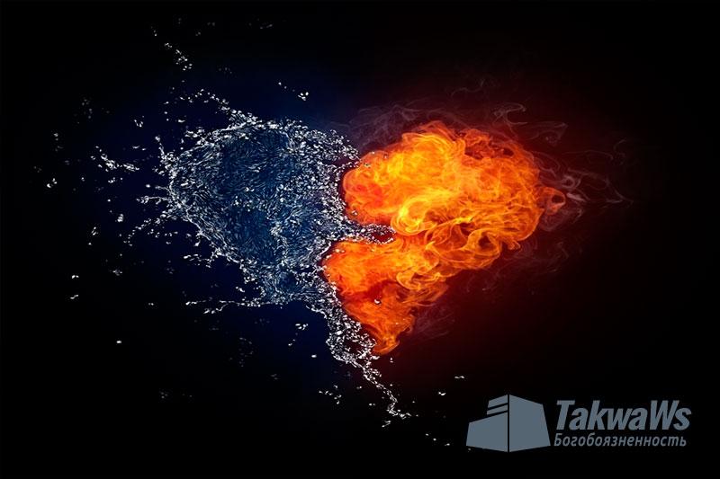 Что относится к внешним проявлениям любви к неверным ?